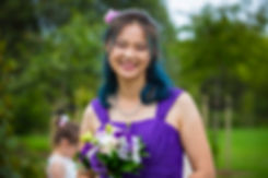 Asian Bridesmaids in New Zealand Kiwi Wedding