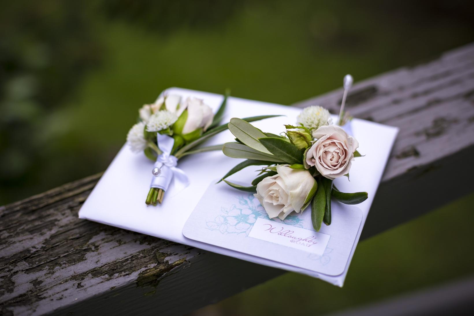 Auckland Wedding Boutonnieres 2