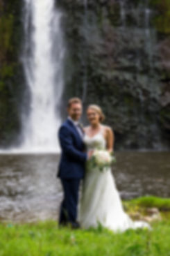 Hunua Falls Bride & Groom