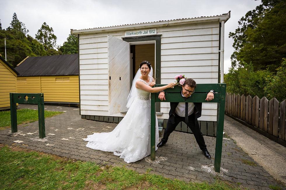 Kiwi Wedding Photography in Matakana Auckland New Zealand