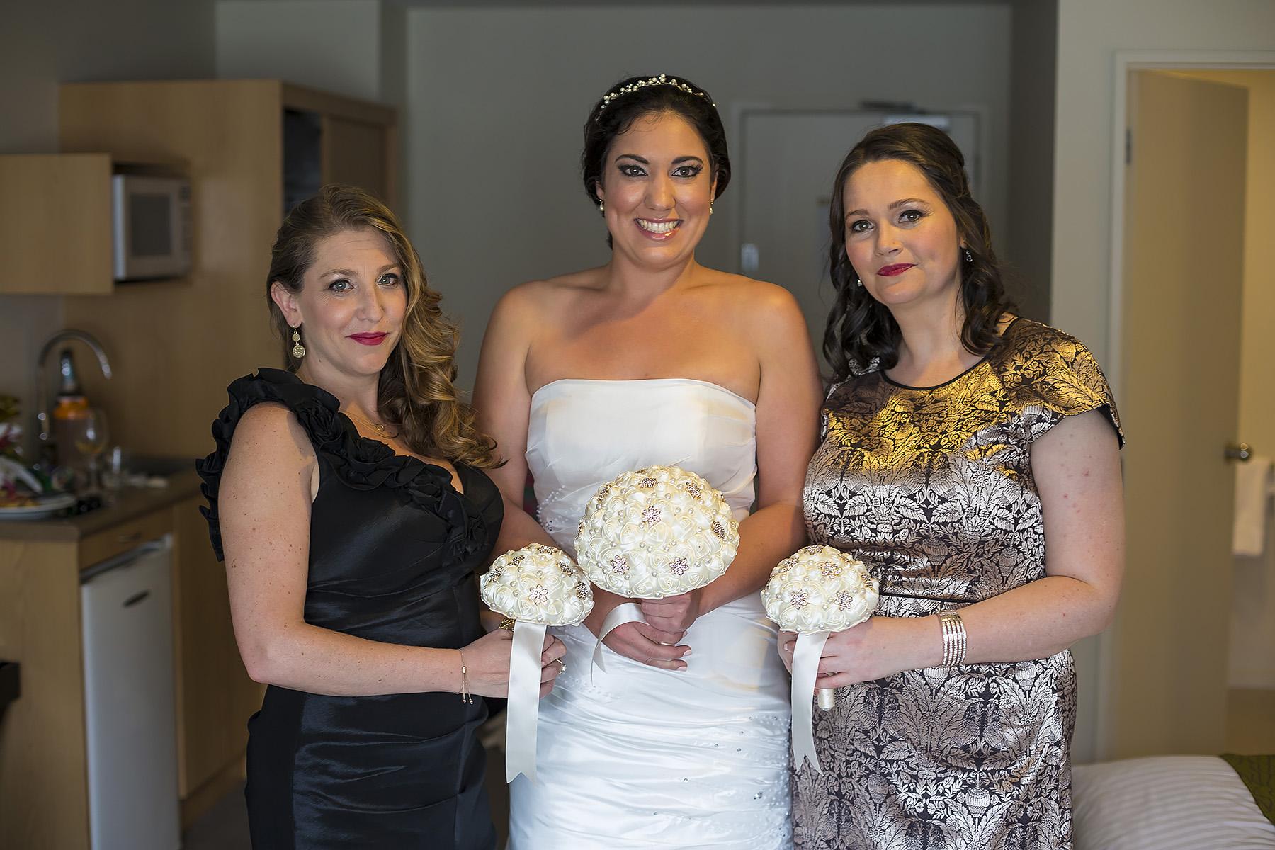 Kiwi Bridesmaids Wedding in Auckland