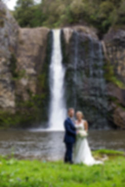 Hunua Falls Wedding Auckland