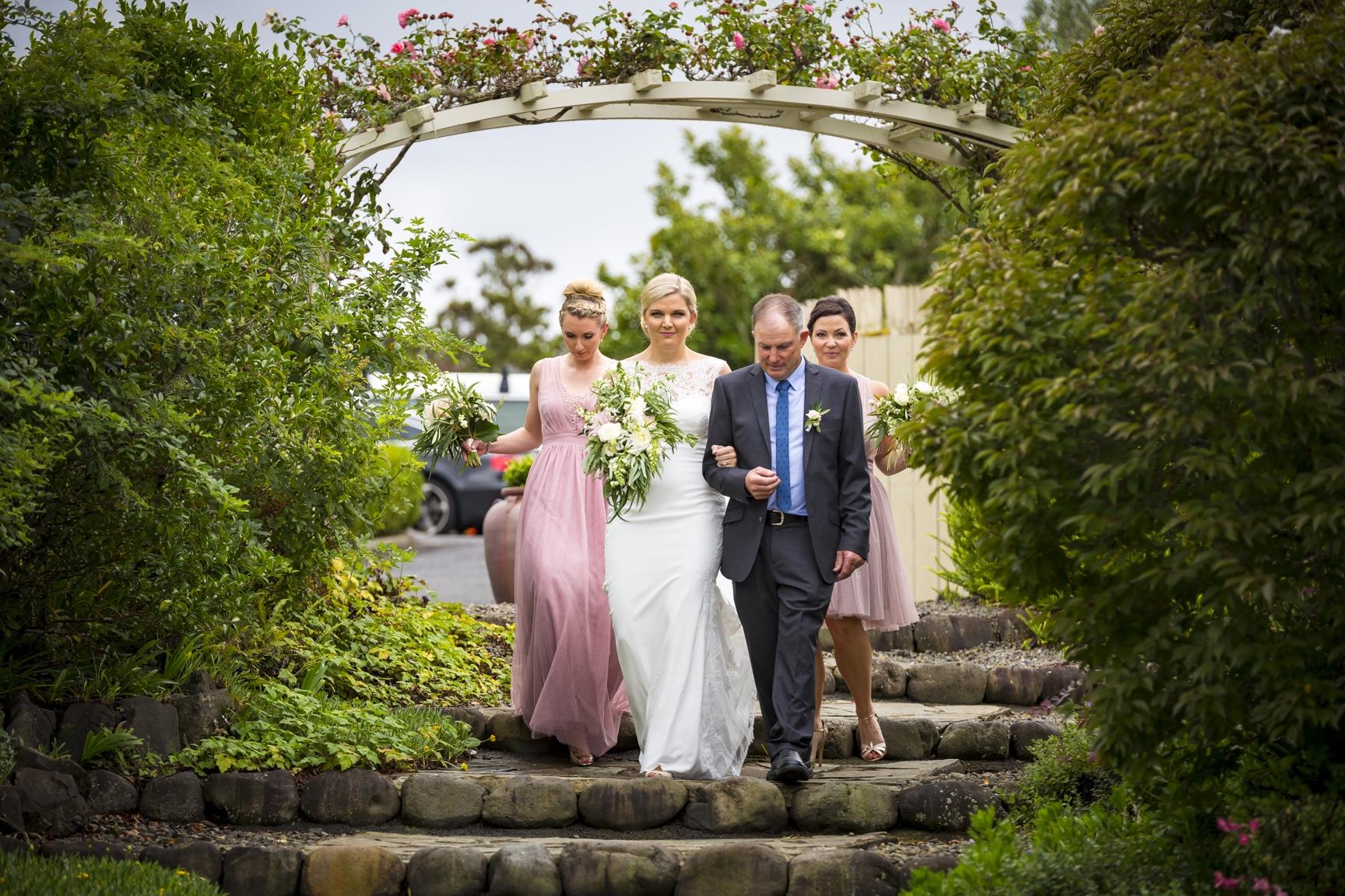 Bridesmaids at Kiwi Auckland Wedding