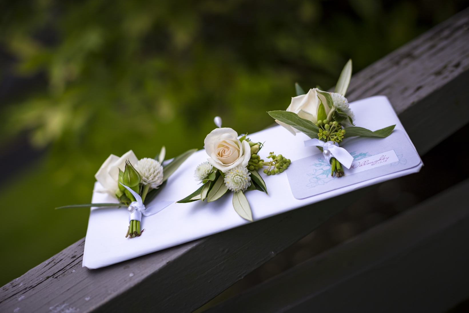 Auckland Wedding Boutonnieres 1