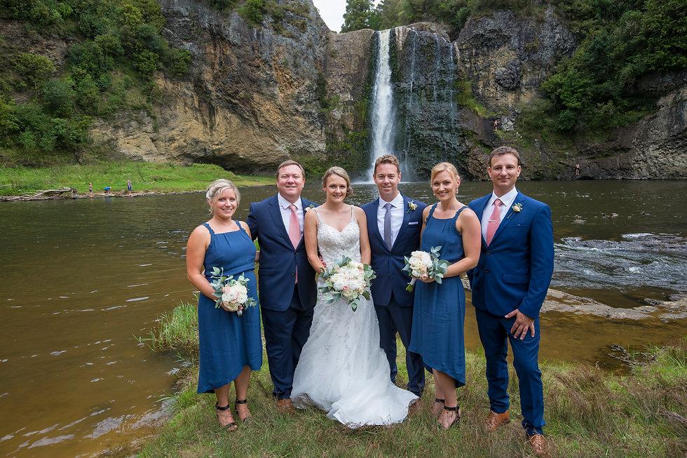 Hunua Falls Wedding Auckland