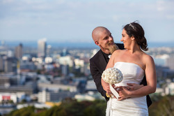 Kiwi Bride and Groom in Auckland NZ