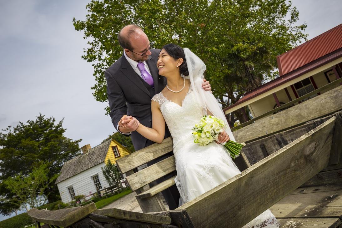 Japan Bride and Kiwi Groom Auckland
