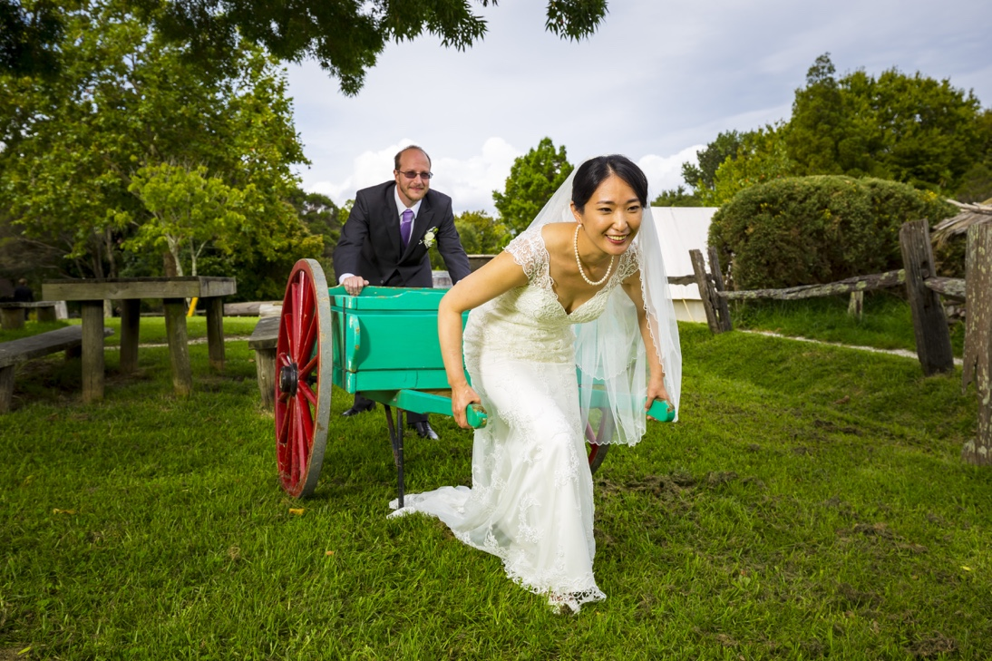 Asian Bride and Kiwi Groom Auckland