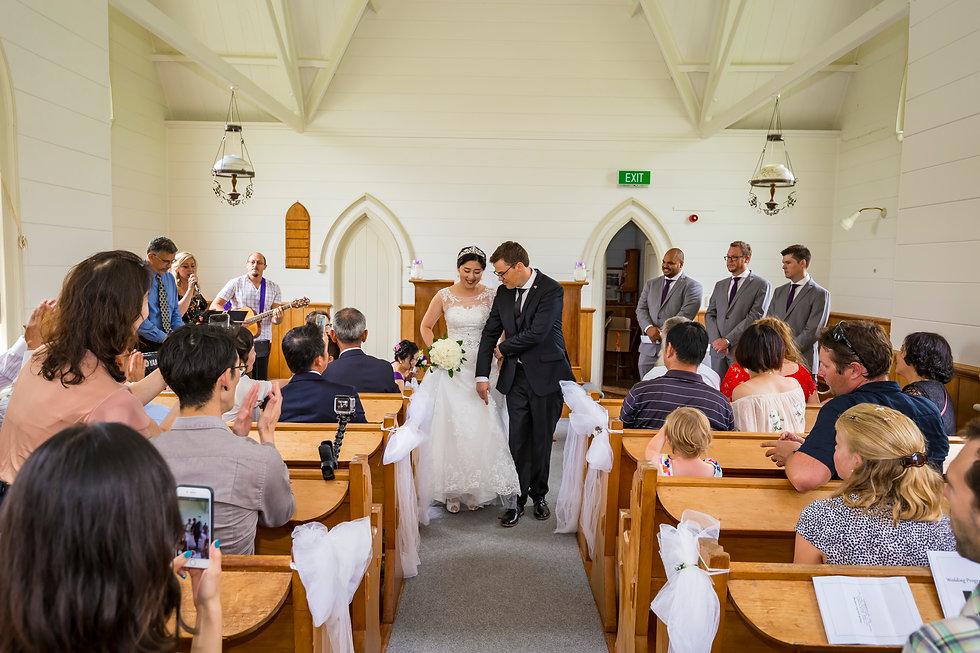 Asian Wedding in Matakana Auckland New Zealand