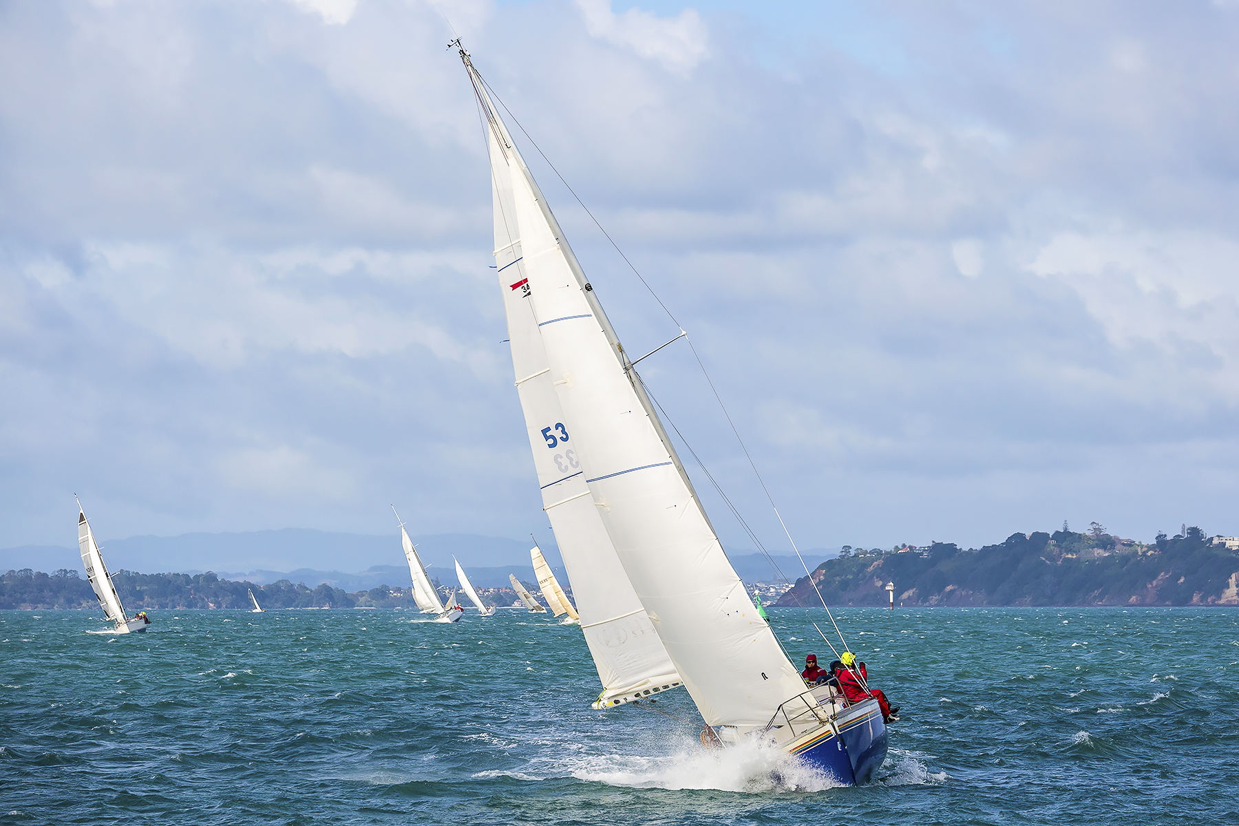 Route 66 Coastal Race in Auckland