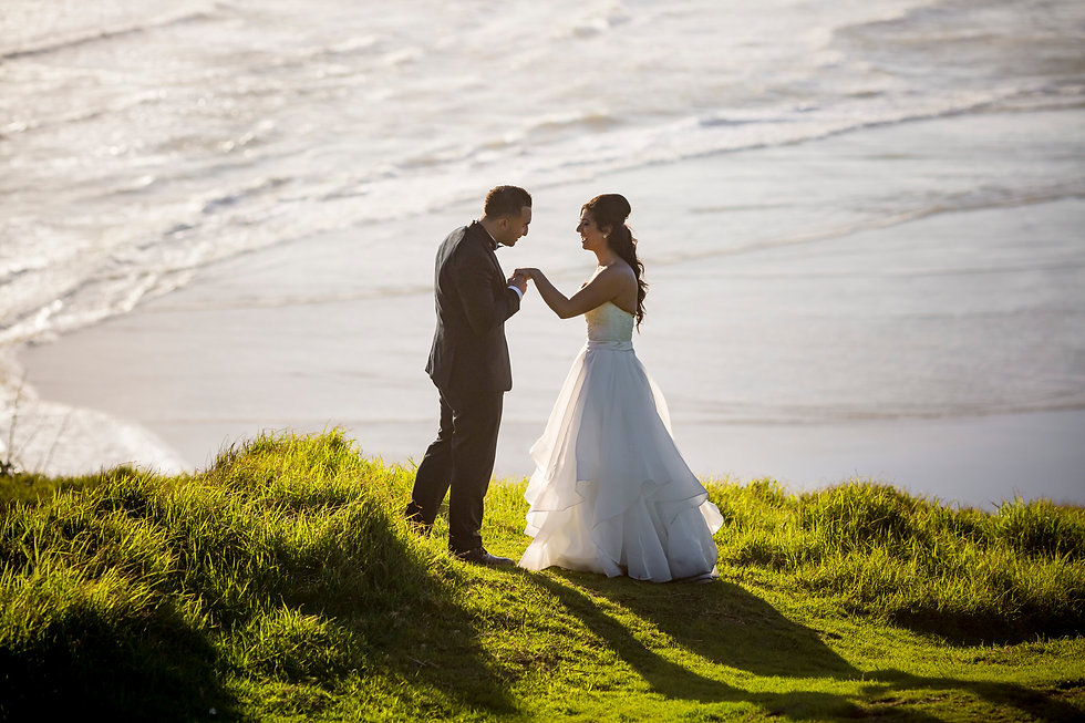 Auckland Wedding Photographer in Muriwai