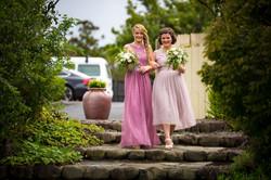 Bridesmaids at Auckland Kiwi Wedding
