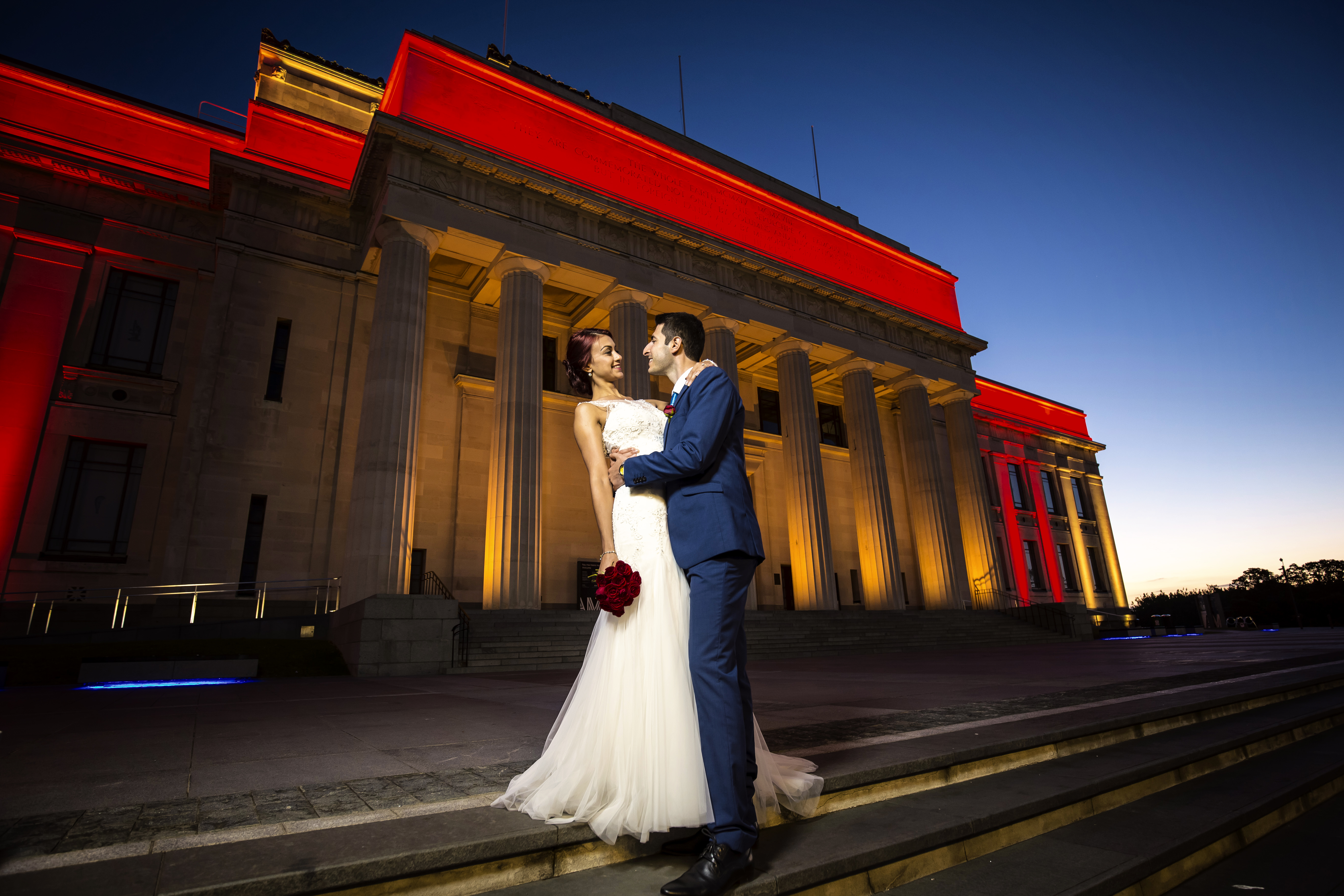 Weddin Photography in Aucklan Museum