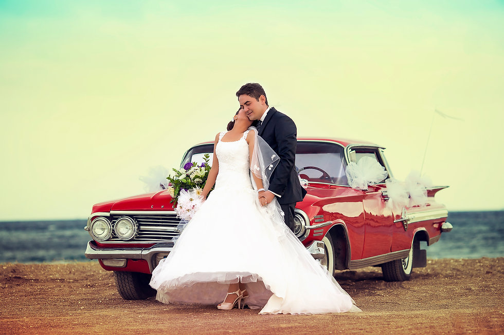 classic car wedding new zealand