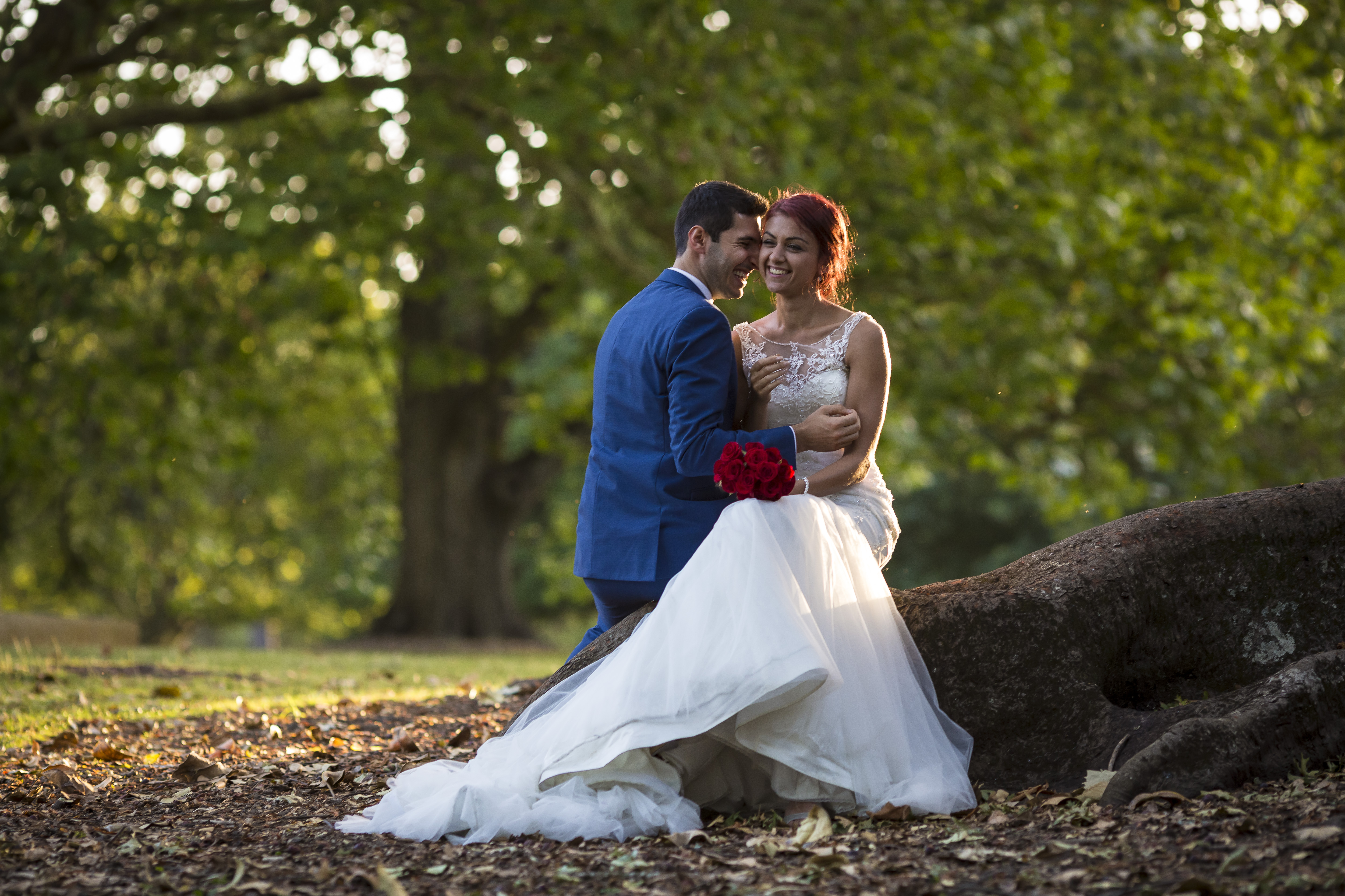 Bridal Photography in Aucklan Domain