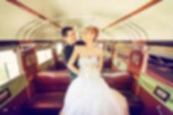 train wedding auckland