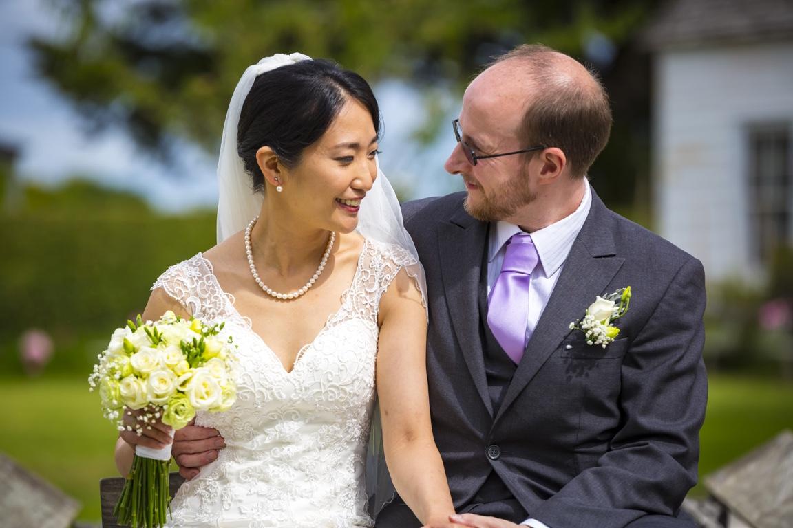 Japan Bride and Kiwi Groom Howick