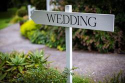 Auckland Wedding Venue Sign