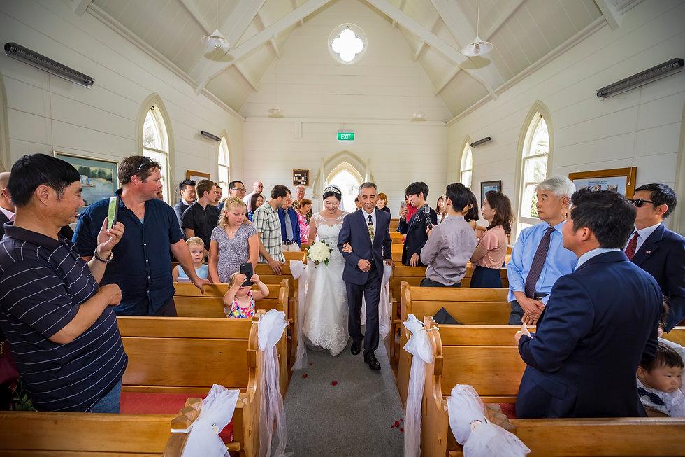 Korean Wedding in Matakana Auckland New Zealand
