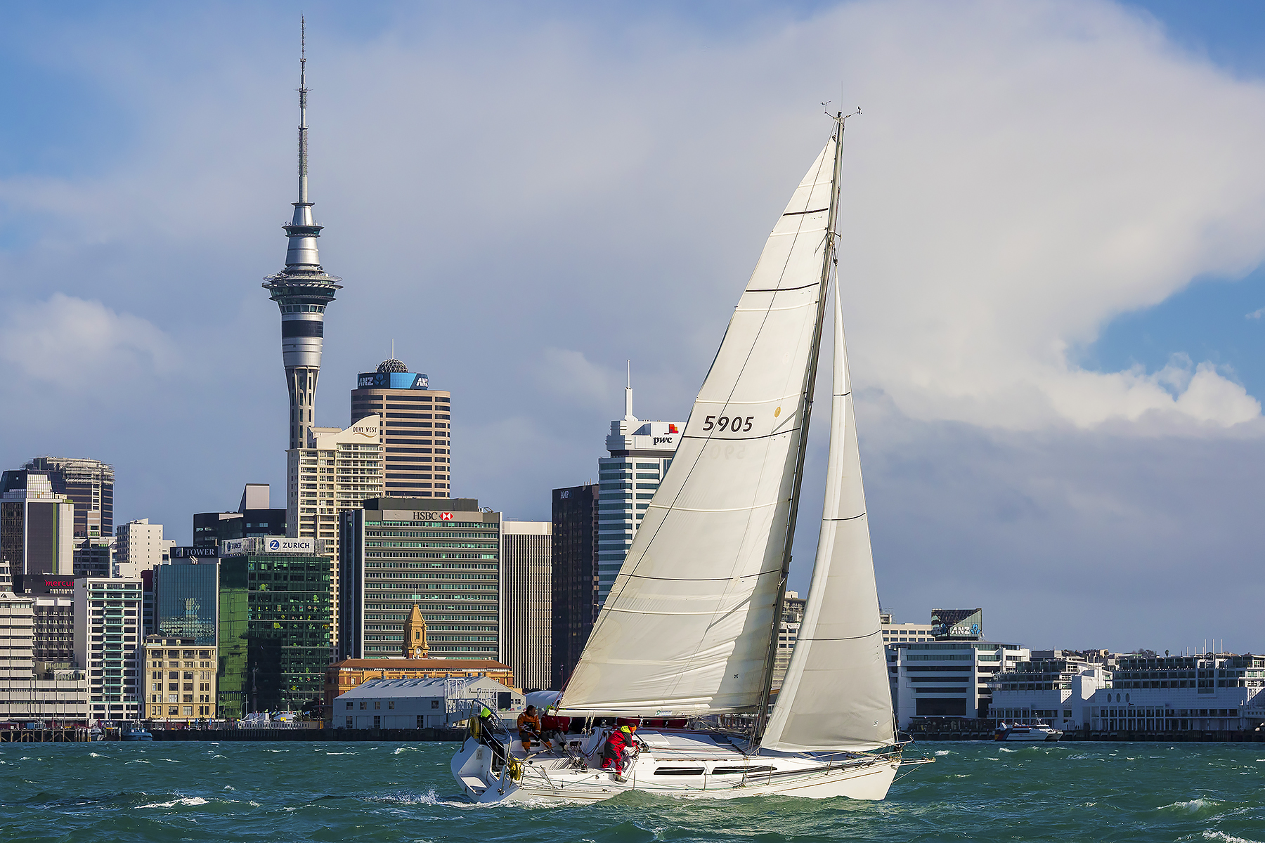Richmond Yacht Club Race Auckland