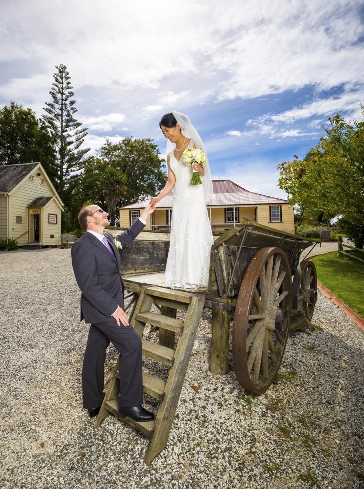 Asian Bride and Kiwi Groom Howick