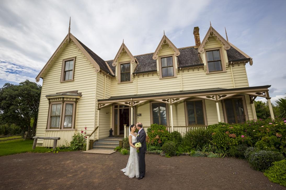 Japanese Bride Kiwi Groom in Howick