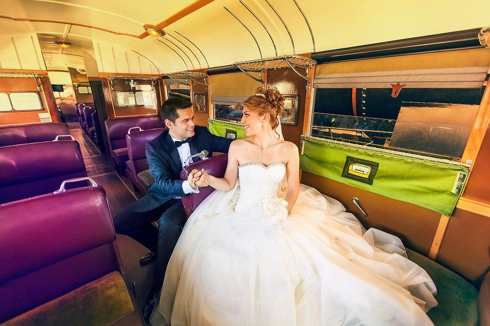 train wedding new zealand