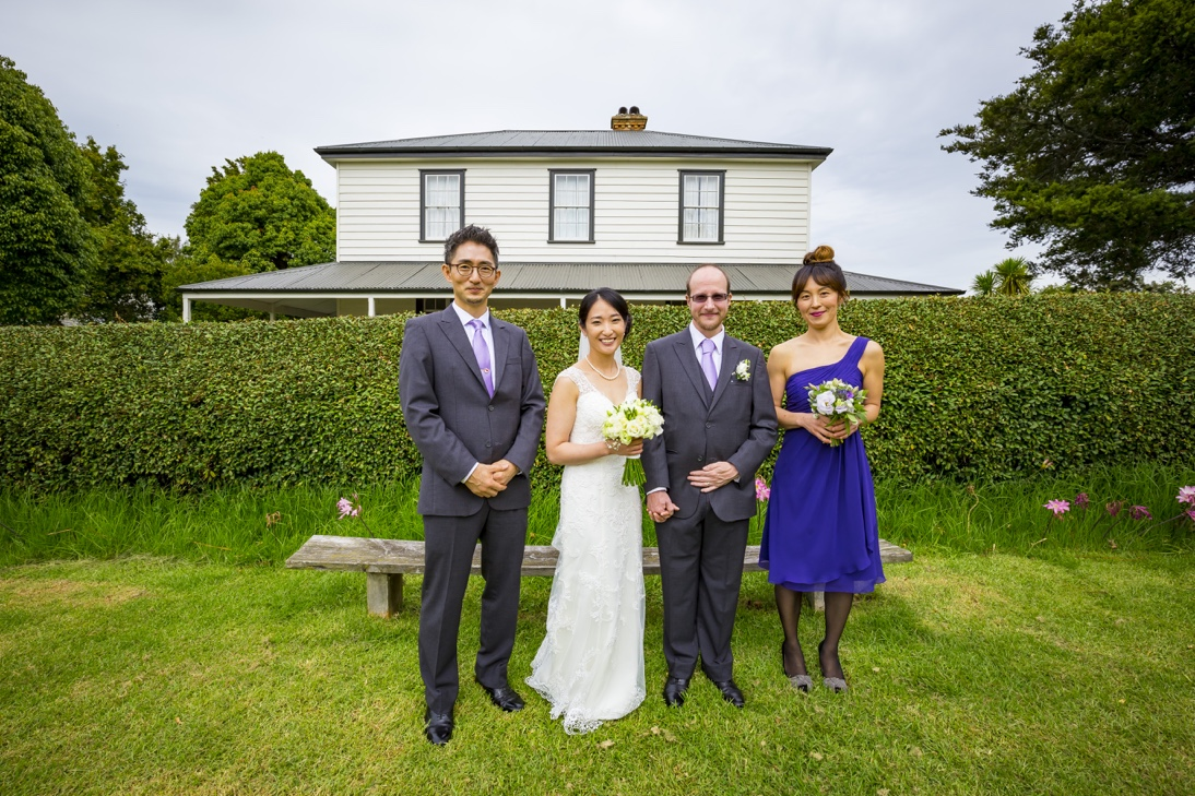Japanese Wedding in Howick Auckland