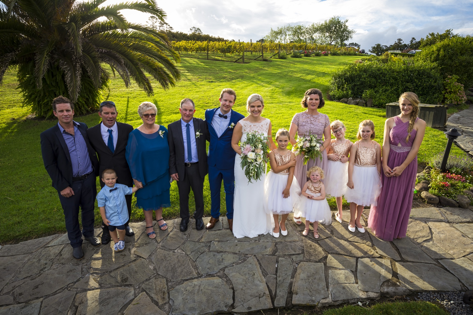 Kiwi Wedding in Gracehill Auckland