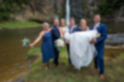 Kiwi Wedding in Hunua Falls Auckland