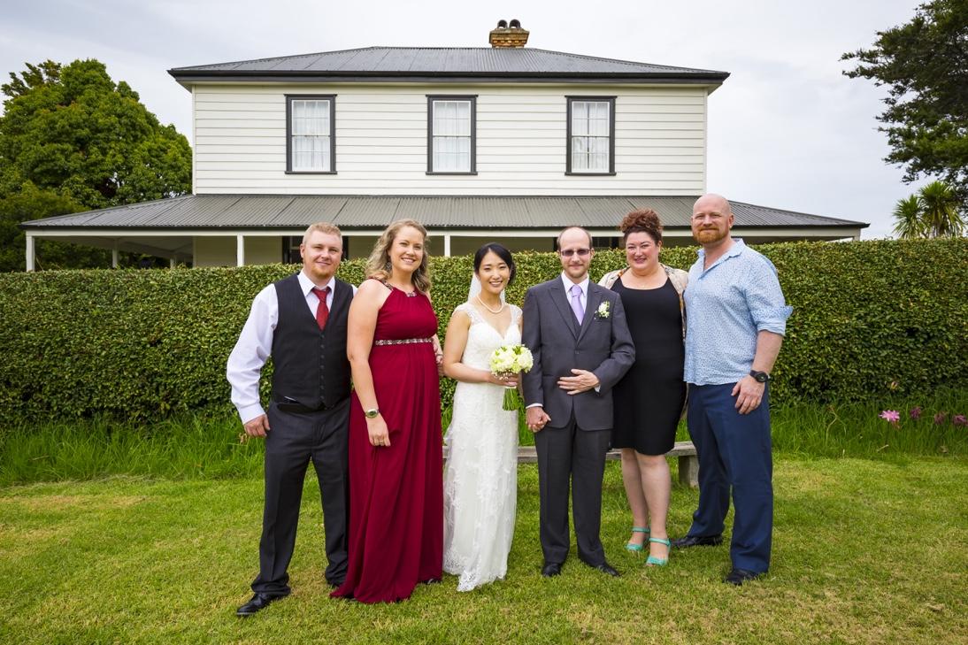 Korean Wedding in Howick Auckland