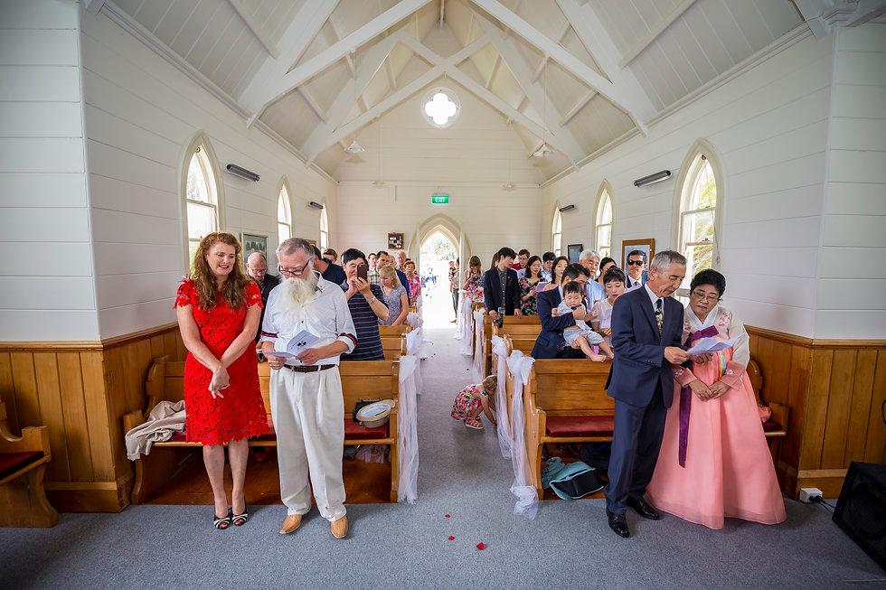 Kiwi Wedding in Matakana Auckland New Zealand
