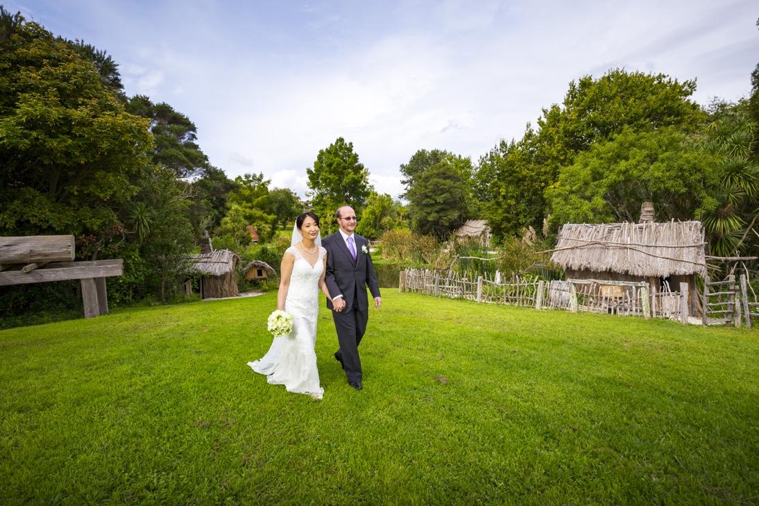 Japanese Bride Kiwi Groom Auckland