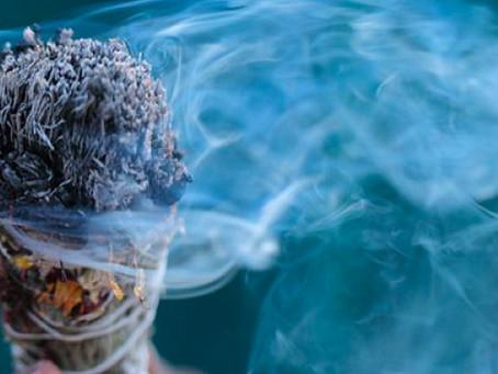 La magia de las plantas hecha Sahumerio