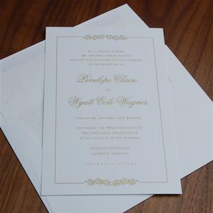 Ballad wedding invitation by Checkerboar