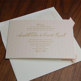 Biltmore wedding invitation by Checkerbo