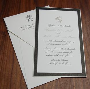 Bottiglia wedding invitation by Checkerb