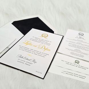 Maryland-Monument wedding invitation by Charu