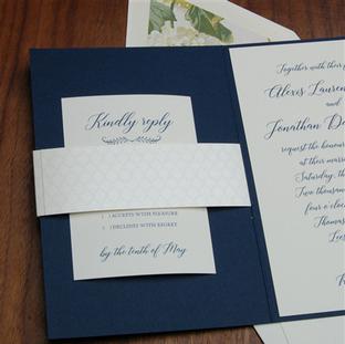 Loudoun wedding invitation by Checkerboa