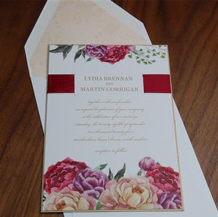 Penelope wedding invitation by Checkerbo