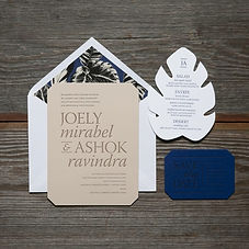 joely-modern-typography-wedding-invitati
