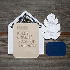 joely-modern-typography-wedding-invitati