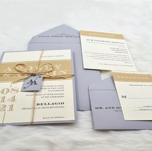 Iowa-Parish wedding invitation by Charu