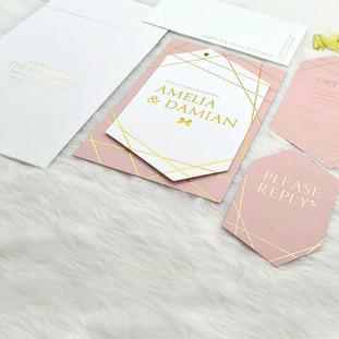 New-York-Avenues wedding invitation by Charu