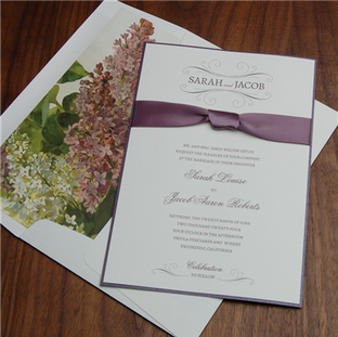 Aromatic wedding invitation by Checkerbo