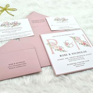 Oregon-Spring wedding invitation by Charu