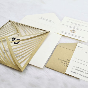 Wyoming-Fields wedding invitation by Charu