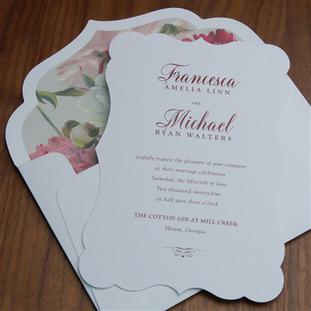 Bordelais wedding invitation by Checkerb