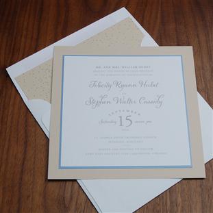 Epitome wedding invitation by Checkerboa