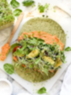Hummus Veggie Wraps (Accidentally Vegan
